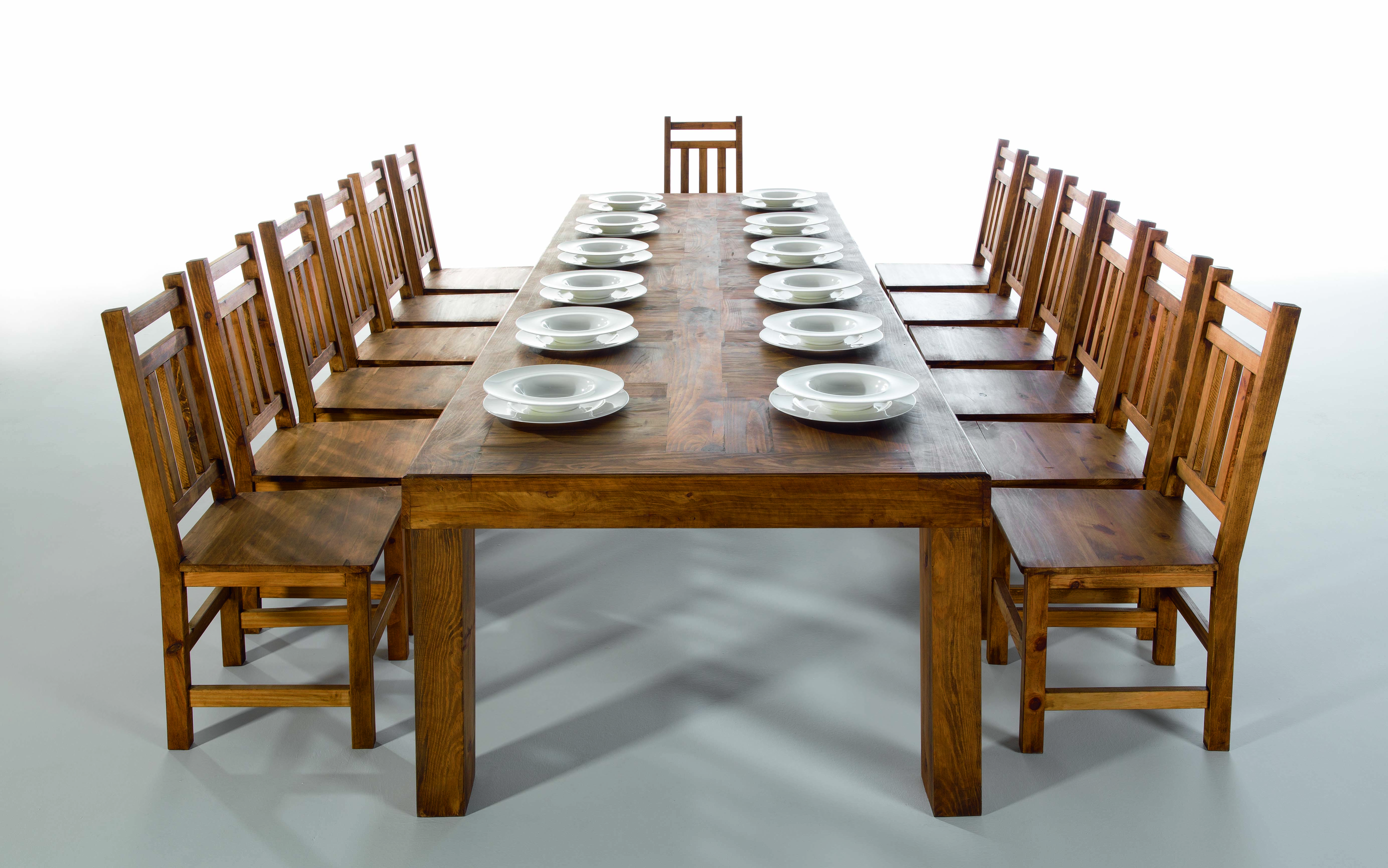 Wooden dining set | Furniture from Spain