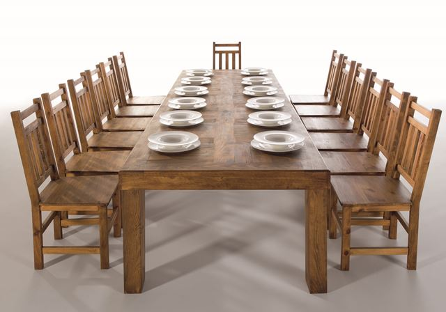 Wood Dining Table Furniture From Spain