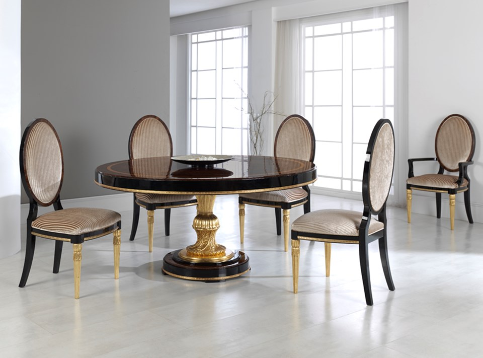 Mariner Furniture La Marais Entrance Dining Table 50139 50140