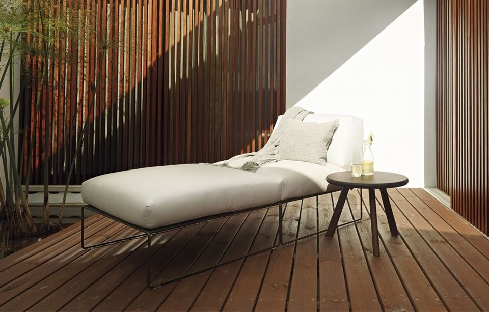 Andreu World Siesta Chaise Longue