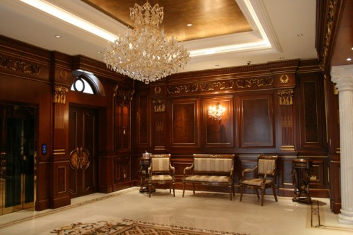 Canella works on a luxury mansion in dhaka bangladesh for Bedroom decoration in bangladesh