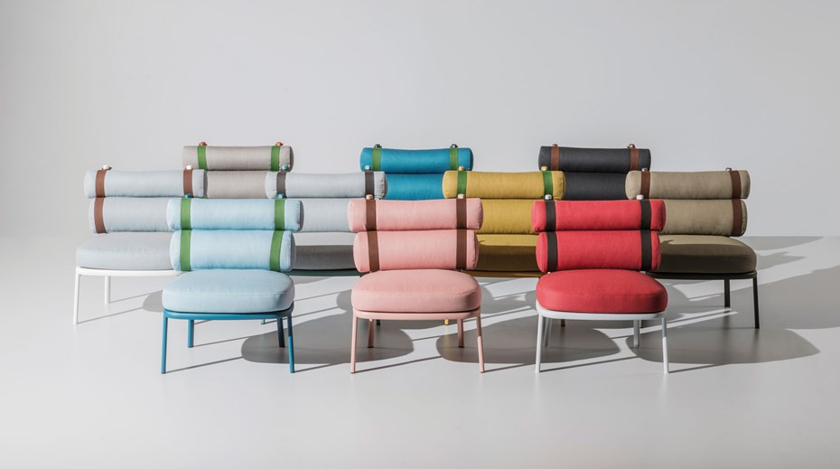 KETTAL ROLL chairs by Patricia Urquiola