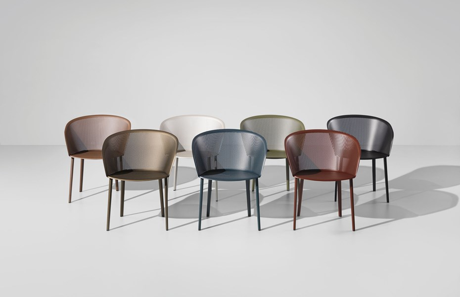 KETTAL STAMPA chairs by Ronan & Erwan Bouroullec