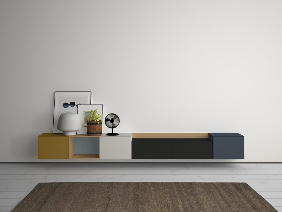 LAUKI collection, modular design for young, casual spaces