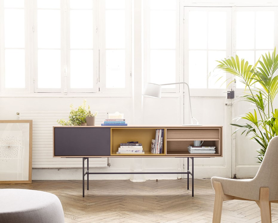 AURA sideboard, TREKU: retro-inspirations for contemporary spaces
