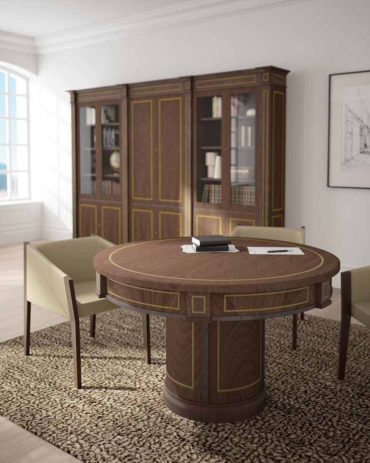 ofifran-art-luxe-round-table-bookcase