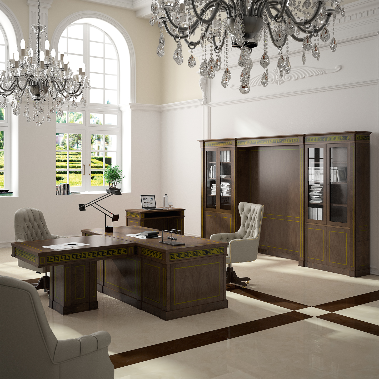 Art luxe from ofifran the refined choice for your office for Casa moderna oficina