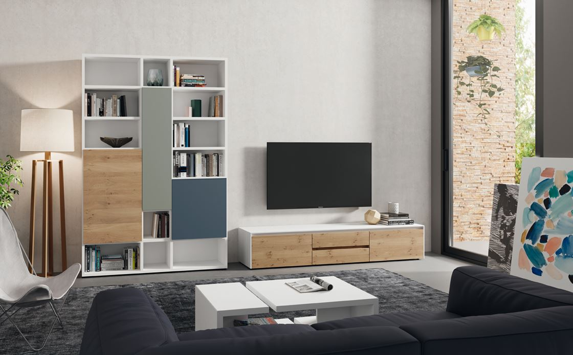 SOLEIL modular living room | Furniture from Spain