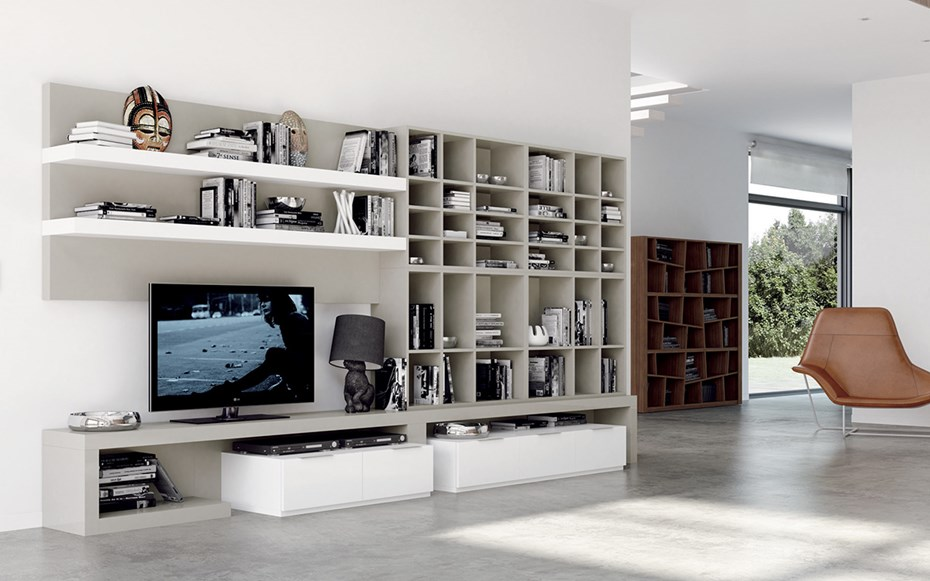 TV stands & Entertainment centres: new designs by MEGAMOBILIARIO ...