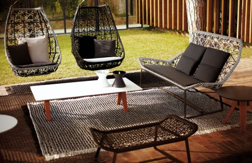 MAIA Ranges: Egg Swing, Sofa And Bench
