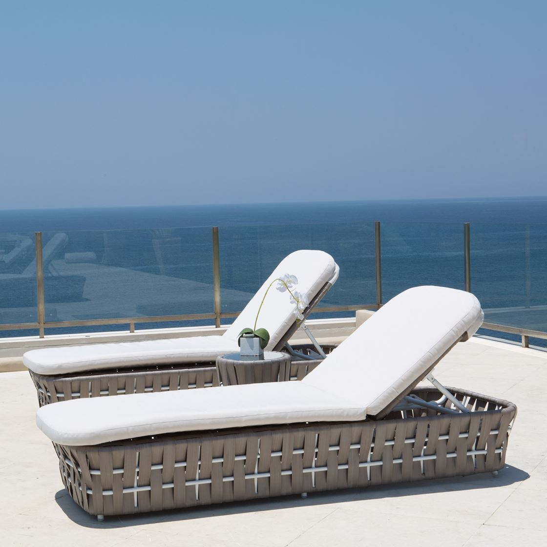 Strips Collection Outdoor Daybeds Furniture From Spain