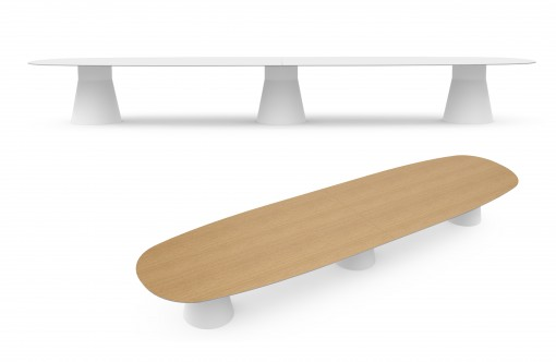 The REVERSE table, a design by Piergiorgio Cazzaniga for ANDREU WORLD