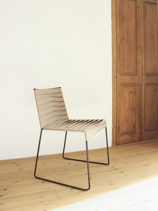 The ESPIGA chair, a new design of INDECASA