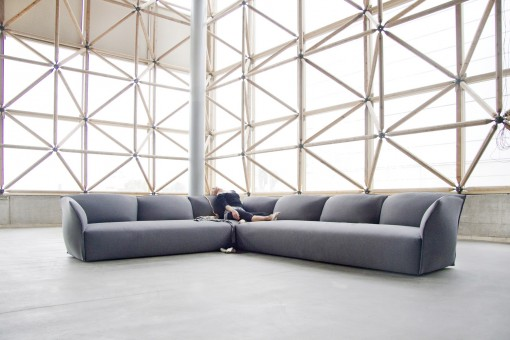 The NEST sofa, a design by Lagranja for KOO INTERNATIONAL