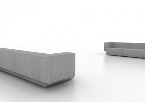 The STEP sofa by Vincent Van Duysen for VICCARBE