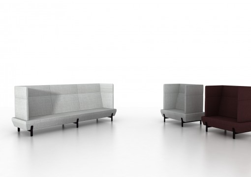 The PLATFORM seating collection by Arik Levy for VICCARBE