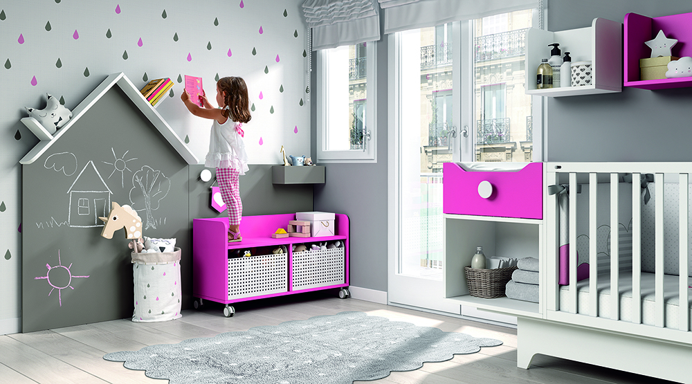 Baby bedroom furniture | Furniture from Spain