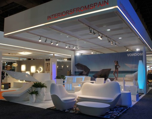 The stand of VONDOM at HD Las Vegas