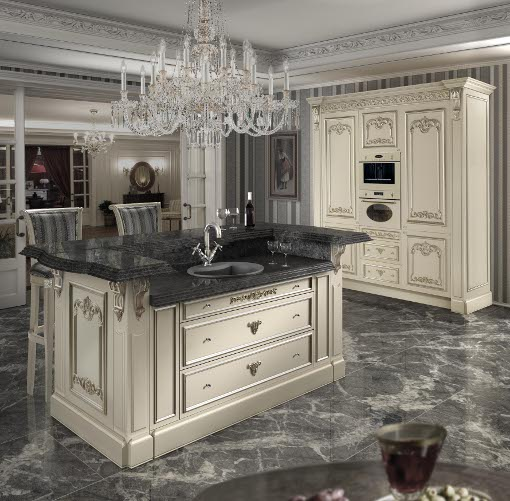 The new hermitage kitchen by muebles pic at i saloni - Saloni banos ...
