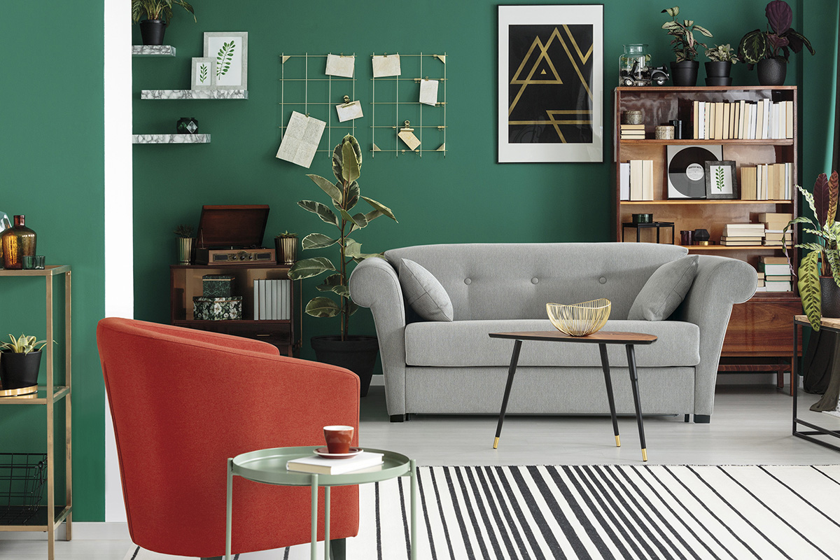 Spaces decorated to ease your mind the latest tendency in contemporary furniture