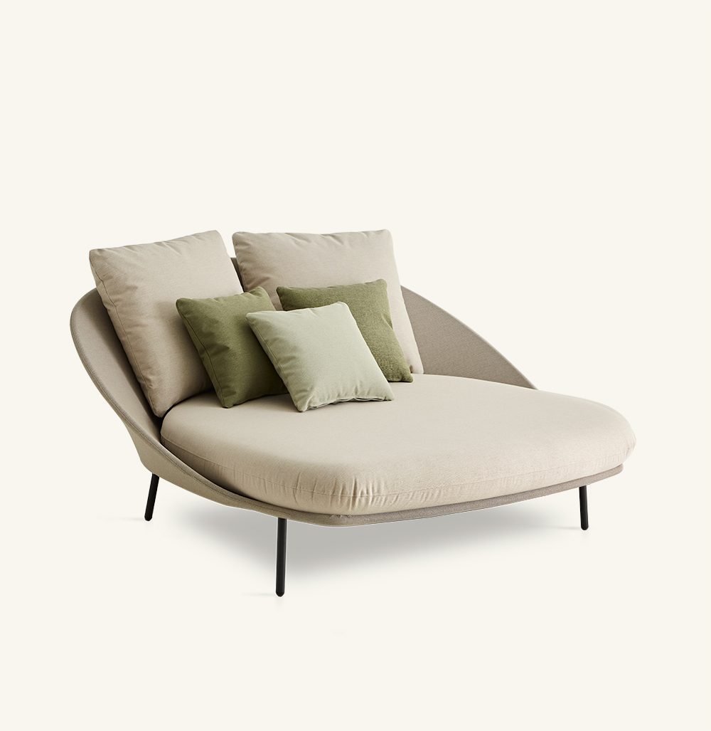 - TWINS Double Chaise Longue Furniture From Spain