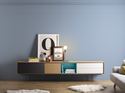 AURA sideboards and TV stands, Angel Marti