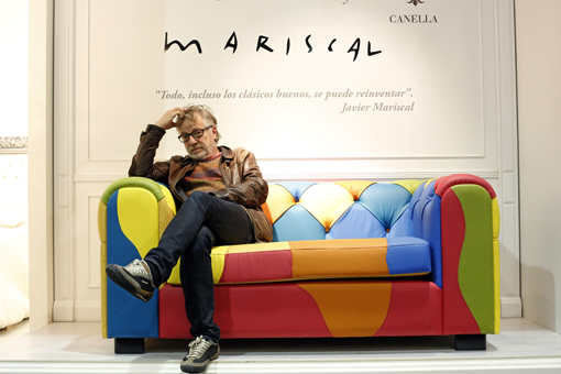 CHESTER sofa by Javier Mariscal. AUDERE by CANELLA