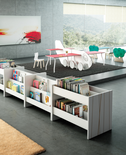 BABILON, contract furniture for libraries, universities and schools. TAGAR