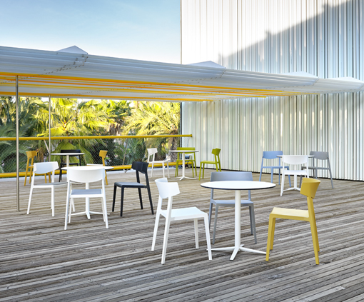 WING chairs, outdoor use. Ramos