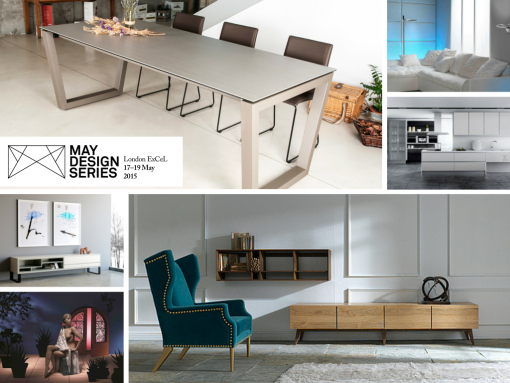 Focused to the retail  interior design  architectural and property  communities and curated to reveal some of the most exciting design led  products. Spanish furniture companies exhibit at the May Design Series  May