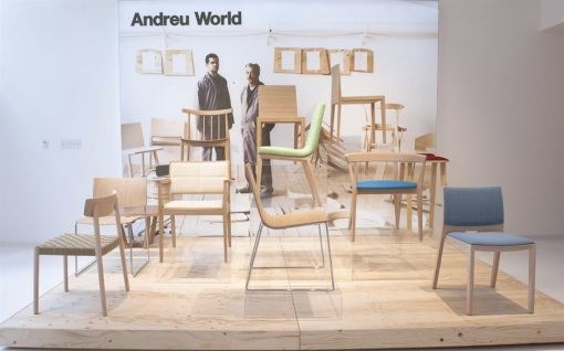 ANDREU WORLD's showroom in San Francisco, U.S.A.