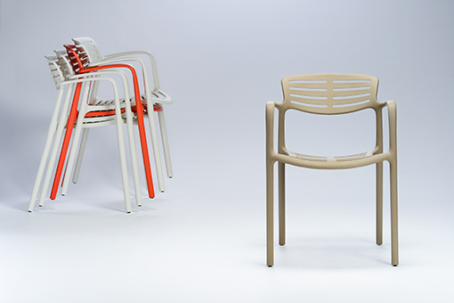 TOLEDO AIRE chair by Jorge Pensi, new version
