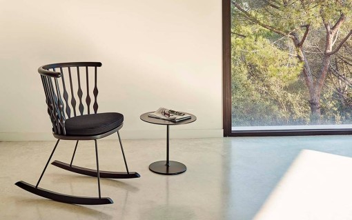 NUB rocking chair by Patricia Urquiola for ANDREU WORLD. NEW!