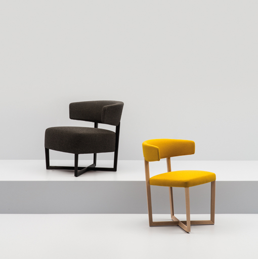 TAURO WOOD chair by Lievore Altherr Molina for ANDREU WORLD