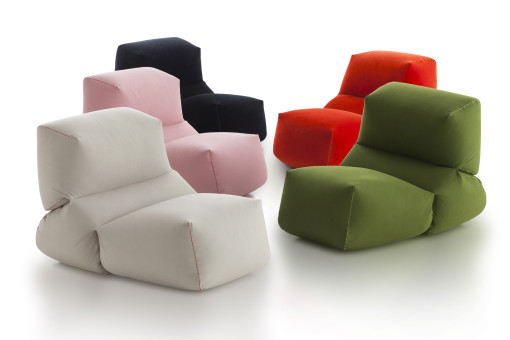 GRAPY easychair by Kensaku Oshiro for GAN