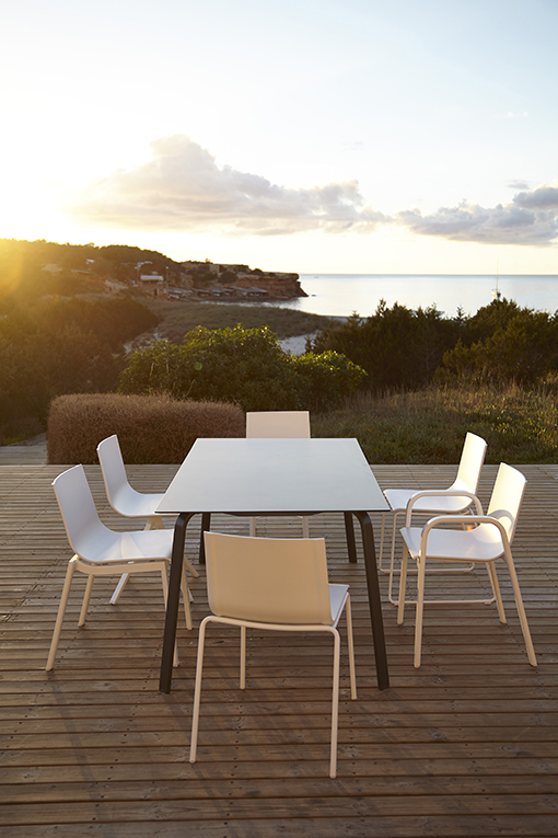 STACK system chairs by Borja García for GANDIA BLASCO