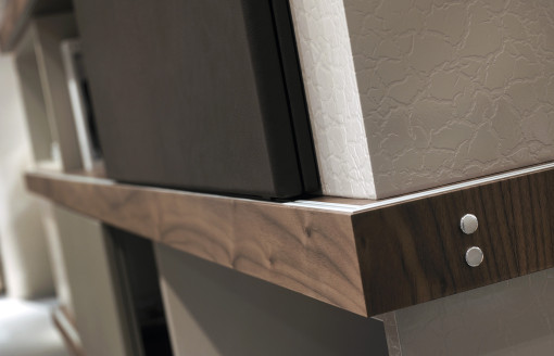 DETROIT collection, detail of finishes