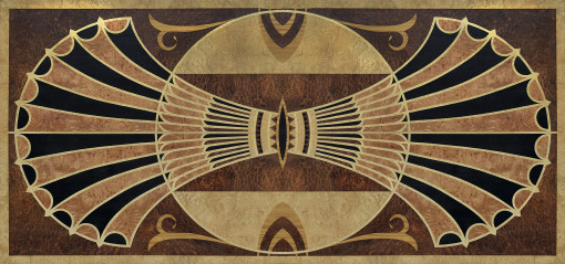 LIFT CHRYSLER top, marquetry