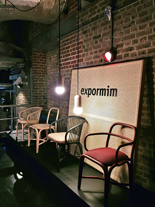 EXPORMIM at the Clerkenwell Design Week 2016, House of Culture