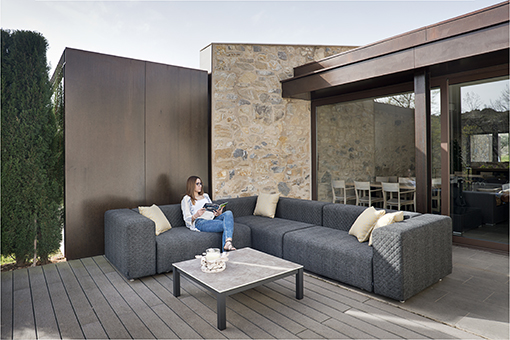CALMA, The Spanish Brand Specialized In Outdoor Furniture, Has The Right  Solution: DORM, The 100% Weather Resistant Modular Sofa Designed By  SerraydelaRocha ...