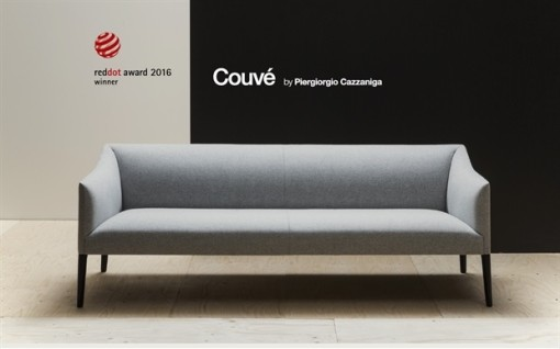 COUVÉ sofa by Piergiorgio Cazzaniga - RED DOT 2016