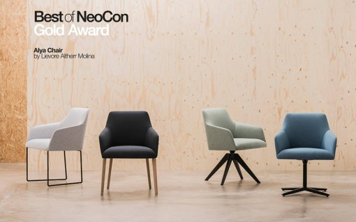 ALYA chairs by Lievore Altherr Molina for ANDREU WORLD - Best of NeoCon 2016