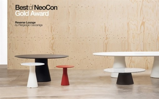 REVERSE table by Piergiorgio Cazzaniga for ANDREU WORLD - Best of NeoCon 2016