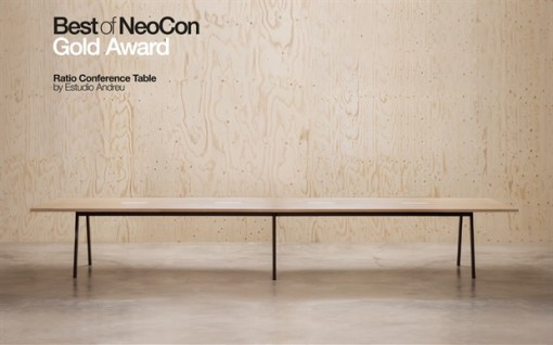 RATIO CONFERENCE table by ANDRE WORLD - Best of NeoCon 2016