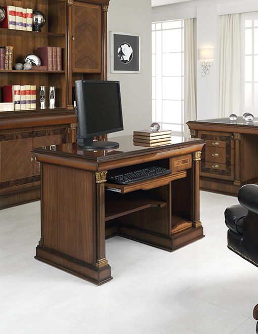 MERLIN office table with PC tray