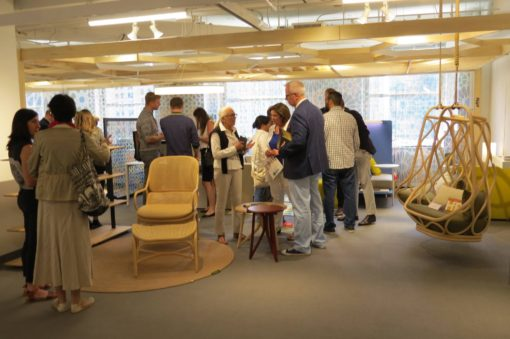 The Spanish pavilion at the NEOCON Chicago 2016, U.S.A.