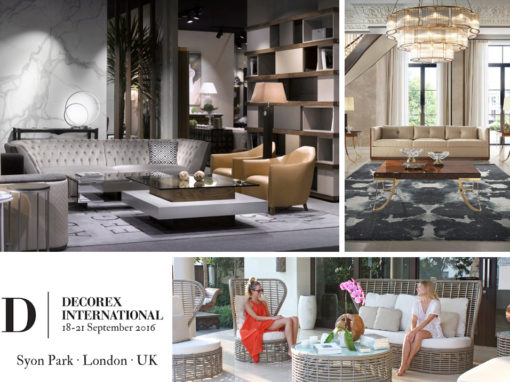 focus on luxury interiors and beautiful and well crafted decorative  objects  in recent years the DECOREX has also opened to more contemporary  designs. The Spain s luxury interior and exterior furniture at the DECOREX