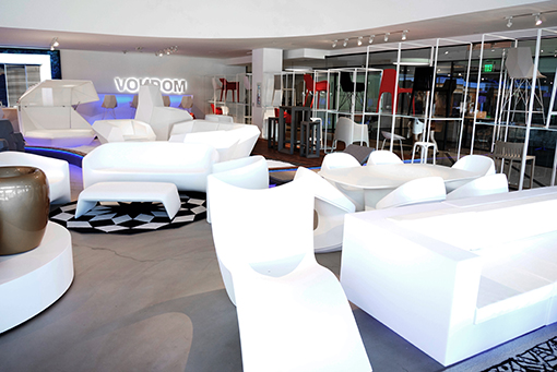 Vondom opens a new showroom in los angeles furniture - Resource furniture espana ...