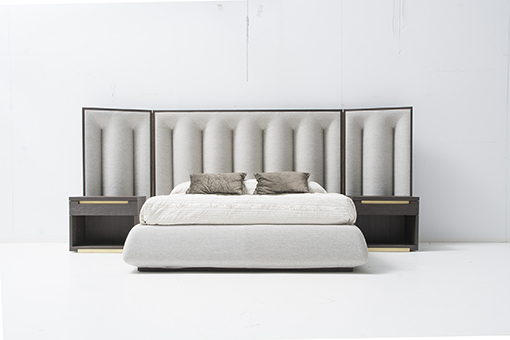 INTERI VISION bedroom by Michelle Mantovani for MOBIL FRESNO
