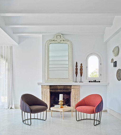 TONELLA armchairs by Note Design Studio for SANCAL